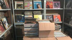 Rock Soul Jazz NM Lot (7) Record MIX Vinyl Original Albums 1960-80s lp Pop NM
