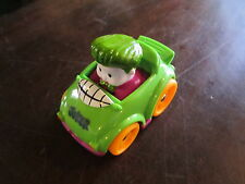 Fisher Price Little People Wheelies DC Super Friends Joker Car Figure Vehicle