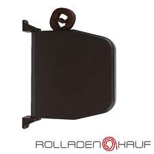 2 x Aufschraubwickler Rolladen Gurtwickler Mini Aufputz Rollladen braun Rollo