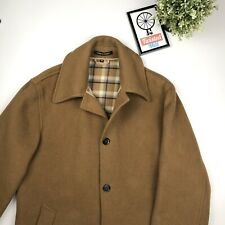 Original Montgomery - Paddock Wool Coat - Beige Made in England - Size 40 Large