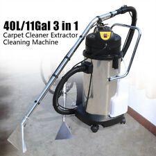 New Listing40l Mobile Carpet Cleaning Machine Vacuum Cleaner Extractor Dust Collector 110 V