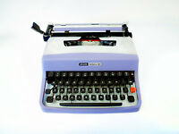 SALE!!! VIOLET/SILVER OLIVETTI LETTERA 32  Vintage Working Typewriter