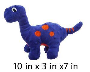 "Top Paw® TUFF Bite Shield Dinosaur - DOG Toy Squeaks & Crinkles 10"" x 3"" x 7"""