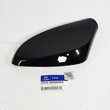 876163X000ANKA Side Mirror Cover Garnish Left Black For HYUNDAI ELANTRA MD 11-14