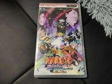 Naruto Movie UMD Video Japan PSP Rare