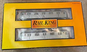 MTH Rail King 4-car R62 R-62 Subway Set Proto-sound 2.0 30-2671-1 Brand New !!!!