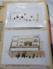 KWE 31 SEL Kurzwellenempfänger 1,5-30 MHz Beschreibung  von 1966