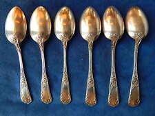 CUILLERES EN METAL ARGENTE / Silver plated spoons - ART NOUVEAU - MARLY