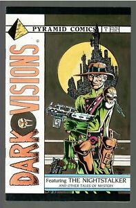 Dark Visions #1 1986 VF (Pyramid)