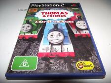 Thomas and Friends A Day at the Races PS2 PAL *Complete* Eyetoy