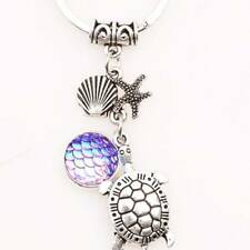 Accessory Fashion Alloy Metal Pendant Scales turtle Key Chain Key Ring Gift