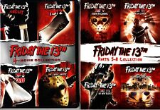FRIDAY THE 13TH - 8 MOVIE COLLECTION 8 DISCS DVD REGION 1