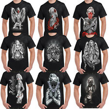 064b748a0a6 Mens Marilyn Monroe T Shirt Outlaw Classic Pop Art Icon Tattoo Gangster  Shirts