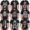 Mens Marilyn Monroe T Shirt Outlaw Classic Pop Art Icon Tattoo Gangster Shirts