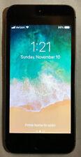 Apple iPhone 5s - 16GB - Space Gray Verizon A1533 (CDMA + GSM) Mint Condition