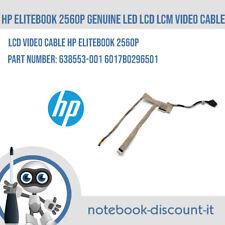 HP EliteBook 2560p ORIGINALE LCD LED Cavo Video LCM 638553-001 6017B0296501