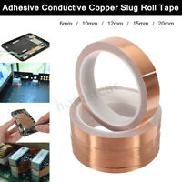 10m Single-sided Adhesive Conductive Copper Foil Tape Guitar Pickup EMI