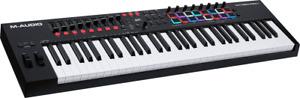 CLAVIER MAITRE  USB MIDI 61 TOUCHES PADS RVB M-AUDIO OXYGENPRO61