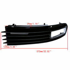 Fit for 2007-10 Audi A8 D3 Facelift Driver Front Bumper Lower Side Grill Grille
