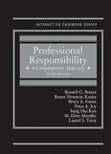 Professional Responsibility A Contemporary Approach