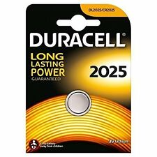 2 x DURACELL CR2025 Batteria A Bottone Al Litio 3 V DL2025 BR2025