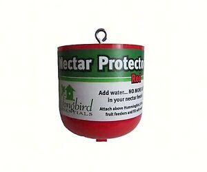 NECTAR PROTECTOR ANT MOAT For HUMMINGBIRD FEEDERS, MODEL SE61                #dm