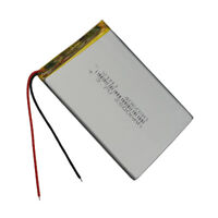 3.7V 2500 mAh Rechargeable Polymer Li ion Lipo battery 406090 for GPS Tablet PC