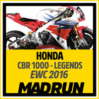 Kit Adesivi Honda CBR 1000 rr Team Legends 2016 EWC - High Quality Decals