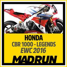 Kit Adesivi Honda CBR 1000 rr Team Legends 2016 EWC - High Quality Decals