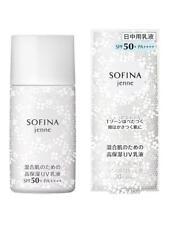[SOFINA JENNE] High Moisture UV Milk Day Protector Sunscreen SPF50 PA++++ 30ml