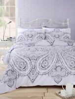 Rapport Soha Paisley oriental Ethnic Duvet Cover Bedding Set Mono