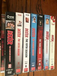 Dexter Complete Season 1- 8 DVD Box Set ONLY WATCHED ONCE PERFECT CONDITION
