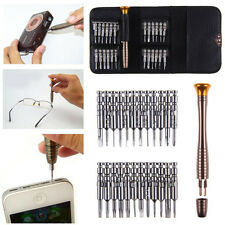 Pro Super 25 IN 1 Screw Driver Laptops Manual Tool Set Kit For iPhone Computer