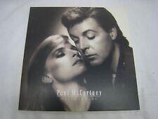 PAUL MC CARTNEY RECORD ALBUM  PRESS TO PLAY PJAS-12475 *GREAT SHAPE* (R441)
