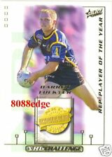 2002 SELECT NRL DALLY M AWARDS #DM5: DARREN LOCKYER - BRISBANE BRONCOS