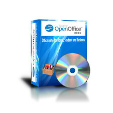 2013 Open Office Home Student Business  For Microsoft Windows 8 7 Vista CD