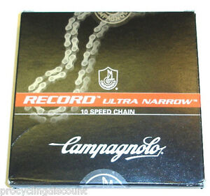 NEW 2021 Campagnolo RECORD ULTRA Narrow 10 Speed Chain & HD Link C10: CN6-REX