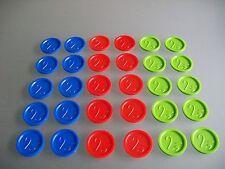 Pfandmarken Wertmarken Event Einkaufswagenchips mit einer 2,- Gravur Ekw 13
