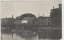 Berwick Maine ME Old Wooden Bridge 1907 Postcard