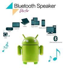 Bluetooth Android Robot Sound Box Mini Portable Wireless Speaker (WATCH VIDEO)