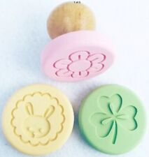 Stampin' Up! Sweet Pressed Cookie Stamps Set Occasions Clover Bunny Flower NIP