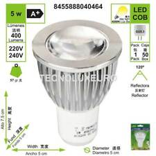 Bombilla COB reflectora G5,3 4200 K luz día 5 W