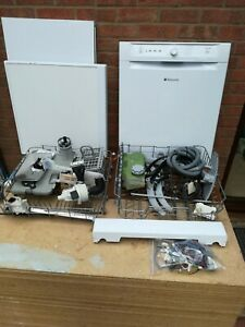 Hotpoint FDAB10110P Dishwasher, White, SPARES all available!!! What you need??