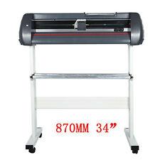 34 Inch Plotter Machine Sign Machine 870mm Paper Feed Vinyl Cutter Plotter