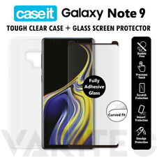 Samsung Galaxy Note 9 Case Cover and Tempered Glass Screen Protector for Note9