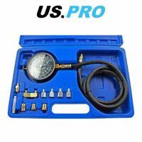 US PRO Auto Transmission Engine Oil Pressure Tester Gearbox Gauge Tool Kit Set