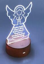 Sleep Prayer Angel LED Night Lamp 7 Colour Changing LM-5