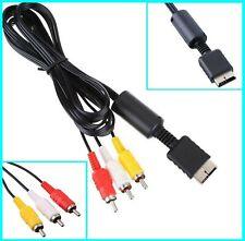 LIQUIDATION: Cable Play Station SONY PS2 PS3 vers ecran TV De FRANCE