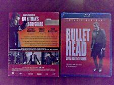Bullet Head Blu-ray 2018 Antonio Banderas (Desperado) Adrien Brody (Predators)