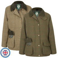 Portmann Ladies Malvern Tweed Wool Jacket Coat Hunting Shooting Fishing